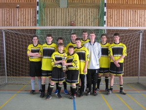 Das Fußballteam der JF
