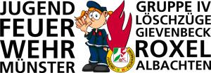 Das Logo der Jugendfeuerwehr GRuppe 4
